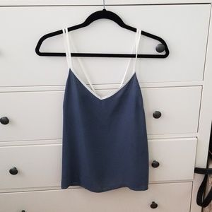 Two Color Tank Top